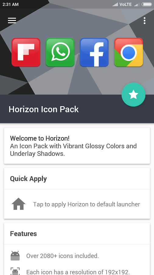 Horizon Icon Pack Screenshot 6