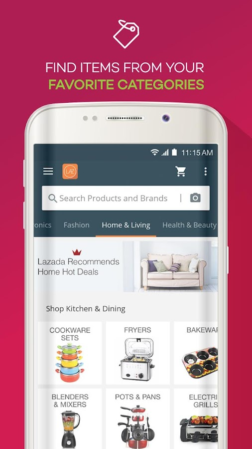 Lazada - Shopping & Deals Screenshot 4