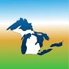 Aqua Map Michigan-Great Lakes