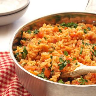 Vegan Red Pepper Risotto Recipes
