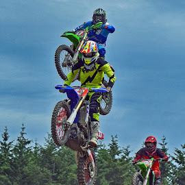 Like A Roller Coaster by Marco Bertamé - Sports & Fitness Motorsports ( motocross, three, jump speed, air, trio, high, race, noise )