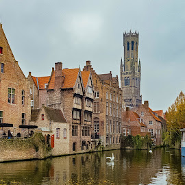 Brugge.... by Ioannis Alexander - City,  Street & Park  Historic Districts