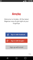 Screenshot of Amebo - News & Gist (Nigeria)