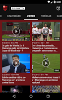 Screenshot of Flamengo SporTV