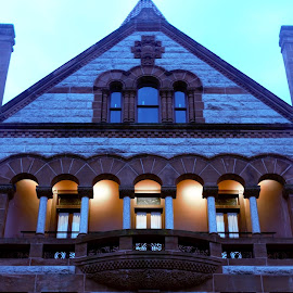 Court House by Mike Bendall - Buildings & Architecture Public & Historical