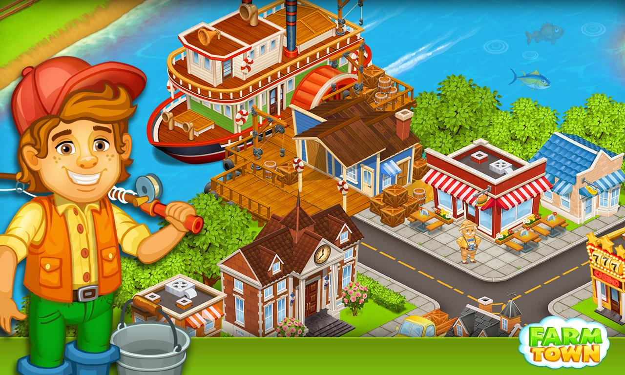 Farm Town:Happy City Day Story Screenshot 14