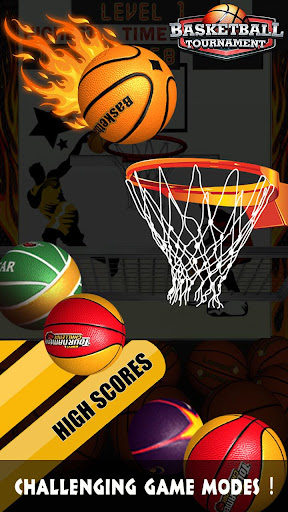 Basketball Tournament - Free Throw Game For PC