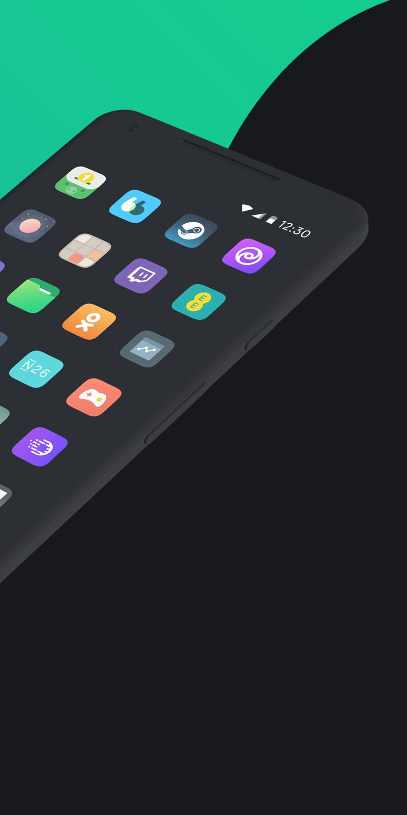 Borealis - Icon Pack Screenshot 3