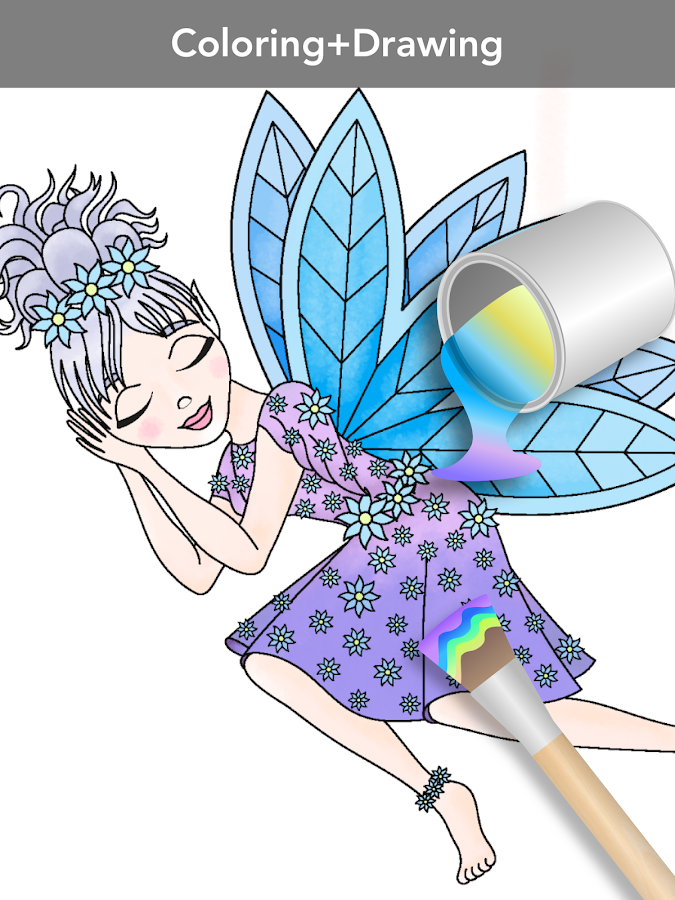 Princess coloring book Screenshot 9