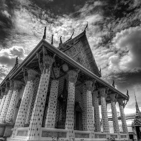 Bangkok Temple by Lina Sariff - Buildings & Architecture Other Exteriors