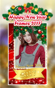 Happy New Year Frames 2017 - screenshot