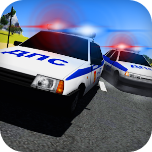 Cover art Racing on Lada Vaz Police 3D