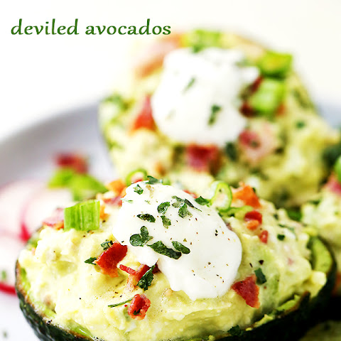 Deviled Avocados