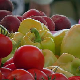 .... stiglo svježe iz vrta ........ by Katica Pecigoš-Kljuković - Food & Drink Fruits & Vegetables
