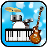 Band Game: Piano, Guitar, Drum
