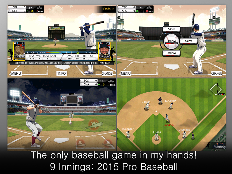 9 Innings: 2016 Pro Baseball Screenshot 1