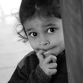 Inquisitive.. by Rakesh Syal - Babies & Children Children Candids