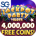 Jackpot Party Casino Slots: 777 Free Slot Machines APK for Bluestacks
