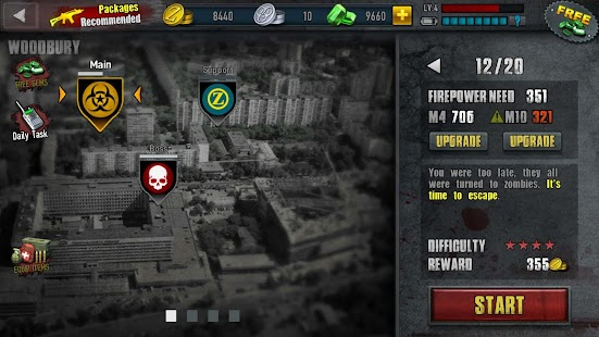 APK Game Zombie Frontier 3-Shoot Target for BB, BlackBerry
