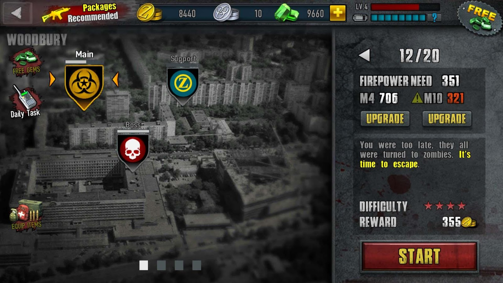 Zombie Frontier 3-Shoot Target Screenshot 11