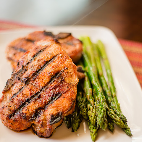 Pork Chops with Carolina Spice Rub