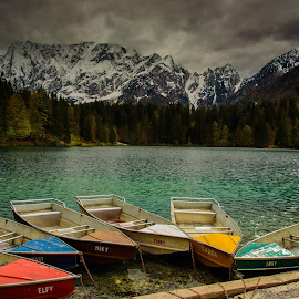 Fusine by Riccardo Nannetti - Transportation Boats