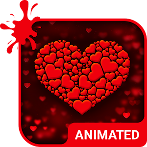 True Love Animated Keyboard