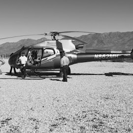 Had to make a fuel stop by Nicky Brigance - Transportation Helicopters