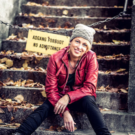 No admittance by Jørn Lavoll - People Portraits of Women