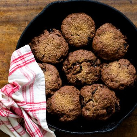 Chocolate-cherry Scones With Cinnamon-orange Butter