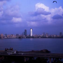 Maximum City by Avanish Dureha - City,  Street & Park  Skylines ( mumbai, monsoon, dureha@gmail.com, taj lands end, avanish dureha )