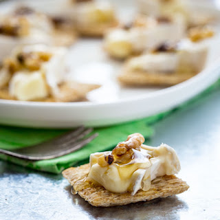 Brie Honey And Walnut Bites