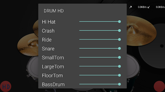 HD Drum - screenshot