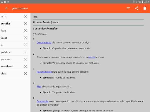 Spanish Dictionary - Offline screenshot 14