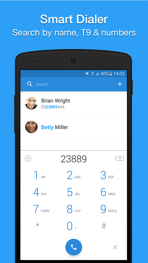 Contacts & Dialer by Simpler Screenshot 3