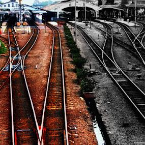 by Yohanes M Wain - Travel Locations Railway