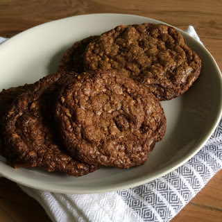 Chocolate Chip-Oatmeal-Coconut Cookies