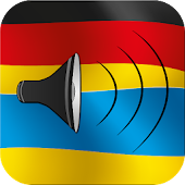 German to Ukrainian talking phrasebook translator