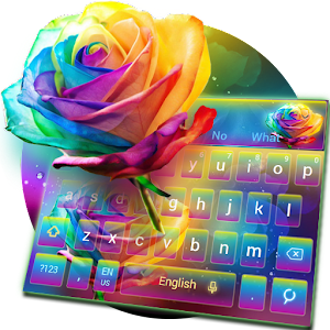 Download Colorful Rose Keyboard Theme For PC Windows and Mac