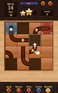 Roll the Ball:滑動拼圖 Screenshot