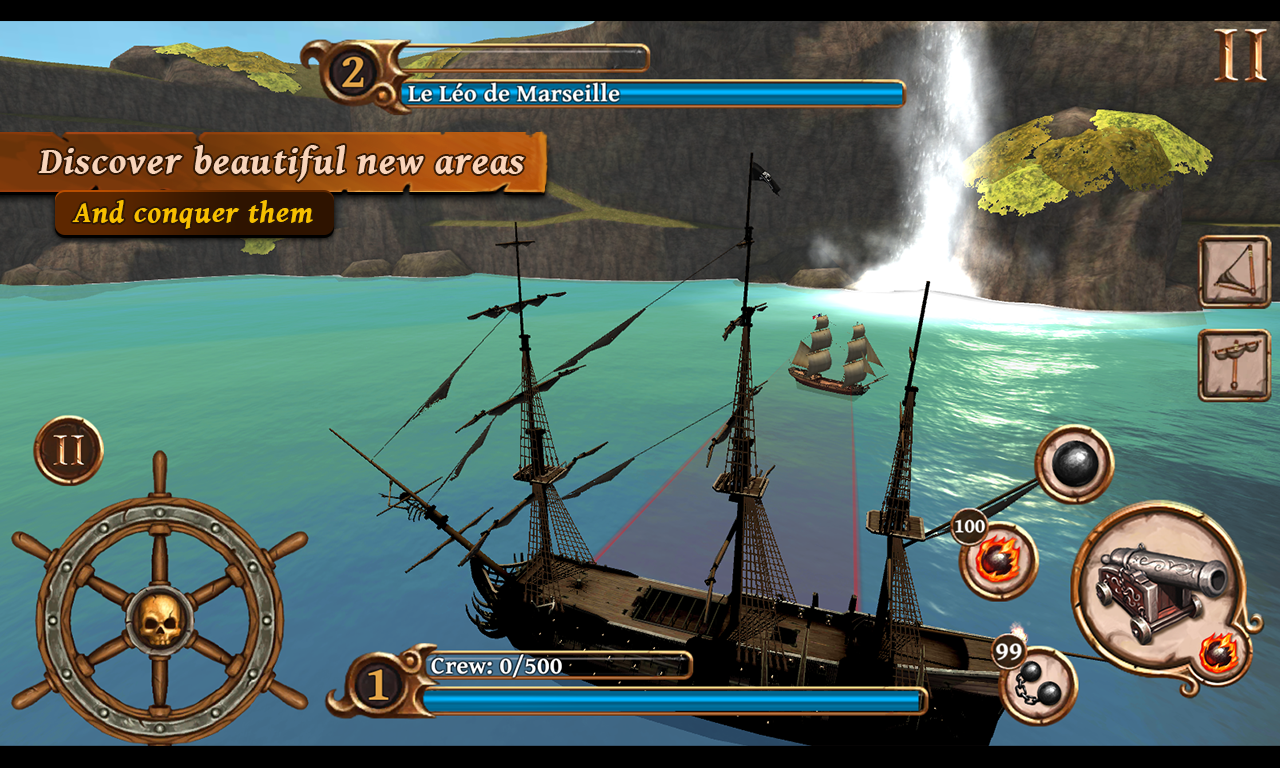Ships of Battle: Age of Pirates Screenshot 1