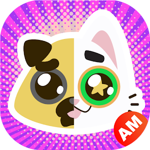 KawaiiMoji - Kawaii Cute Puppy, Cat, Animal Emoji Icon