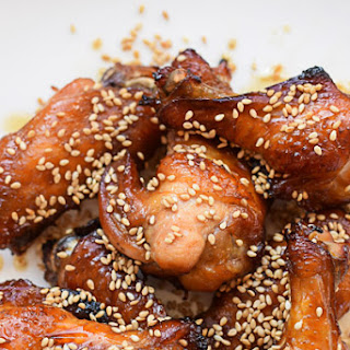 Sesame Pineapple Chicken Wings