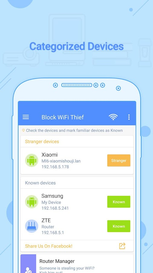 Block WiFi Thief Pro version - Ads Free! Screenshot 3