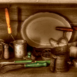 Baking Time by Michele Richter - Artistic Objects Antiques ( mrichterphotos )
