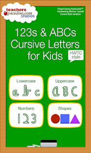 ABC Kids Cursive Alphabet HWTC - screenshot