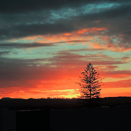 SUnset Colours by Di Mc - Novices Only Landscapes ( sunset, kingscliff, sun )