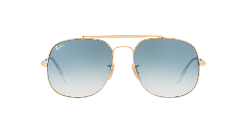 Ray Ban General Gold and Blue Gradient