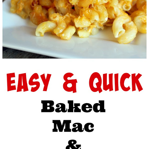 Easiest Ever Baked Macaroni and Cheese