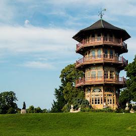 Patterson Park Pagoda by Stephen Majchrzak - Buildings & Architecture Public & Historical